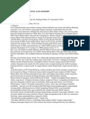 Unsur Intrinsik Novel Sang Pemimpi : unsur, intrinsik, novel, pemimpi, Analisis, Intrinsik, Novel, Pemimpi