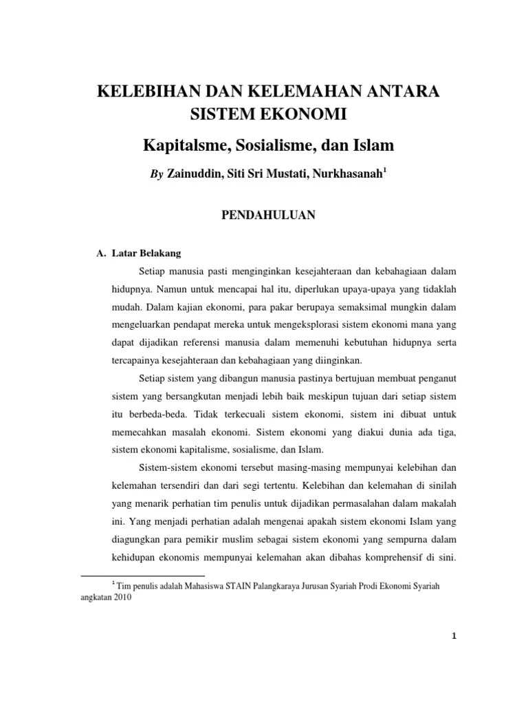 Uraikan Kelebihan Dan Kelemahan Sistem Ekonomi Pasar : uraikan, kelebihan, kelemahan, sistem, ekonomi, pasar, Kelebihan, Kelemahan, Sistem, Ekonomi, Pasar