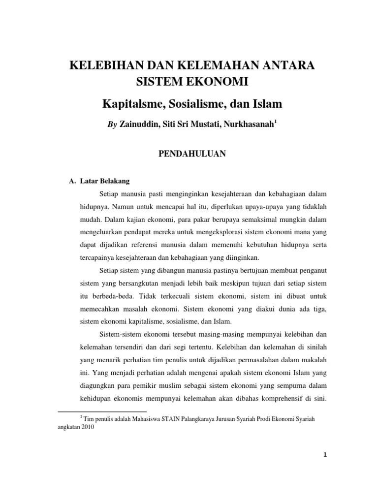 Kelemahan Sistem Ekonomi Komando Adalah : kelemahan, sistem, ekonomi, komando, adalah, Kelebihan, Kelemahan, Sistem, Ekonomi