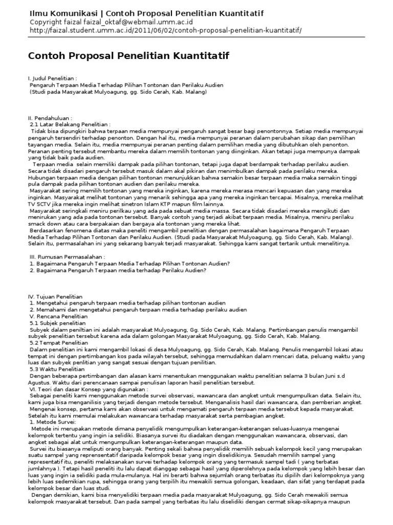 Contoh Proposal Penelitian Kuantitatif Komunikasi : contoh, proposal, penelitian, kuantitatif, komunikasi, Komunikasi-Contoh, Proposal, Penelitian, Kuantitatif