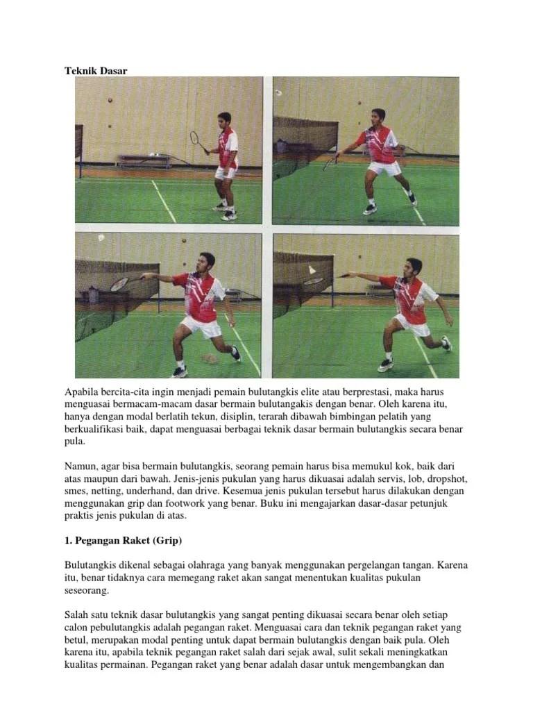 Teknik Servis Badminton : teknik, servis, badminton, Bermain, Badminton