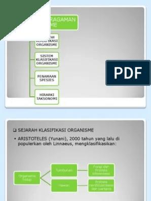 Klasifikasi Organisme : klasifikasi, organisme, Klasifikasi, Organisme