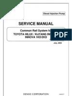 Service Manual Common Rail System Isuzu 4HK1 6HK1   Fuel