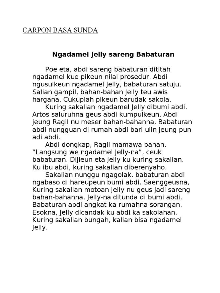 Carita Pondok Bahasa Sunda : carita, pondok, bahasa, sunda, CARPON-BASA-SUNDA