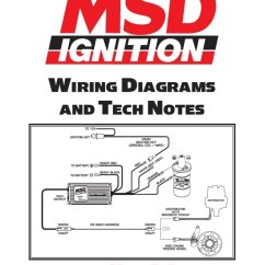 Msd Blaster Coil Wiring Diagram 2009 Ford Explorer Radio Soleniod With 6al Free For Ignition Diagrams And Tech Notes Distributor Rh Scribd Com
