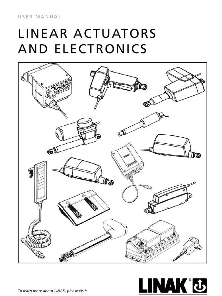 LINAK Linear Actuators and Electronics User Manual Eng