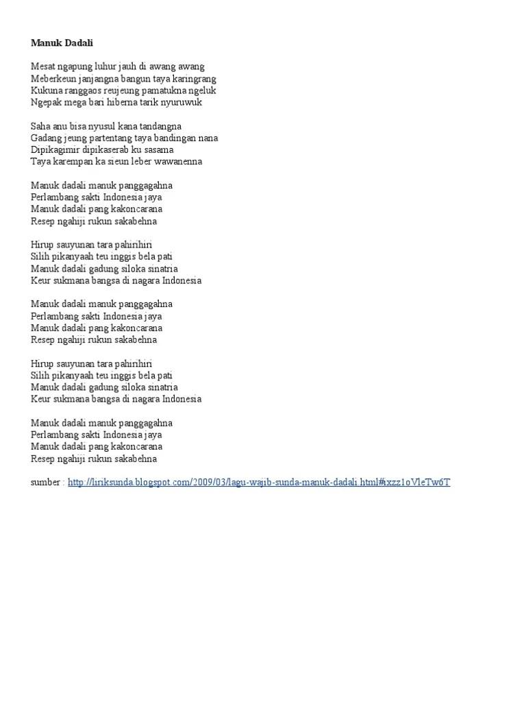 Lagu Sunda Ulah Ceurik : sunda, ceurik, Lirik, Sunda