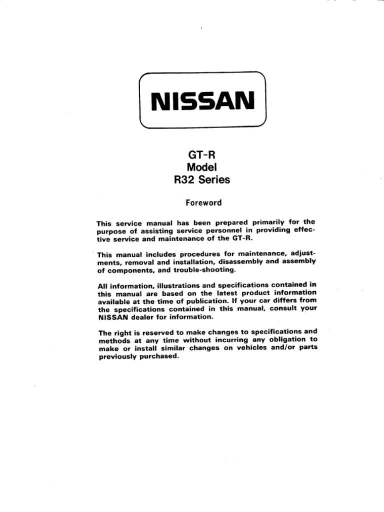 medium resolution of nissan gtr32 main harnes wiring diagram