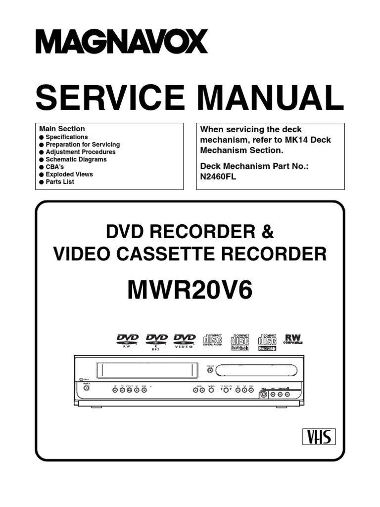 magnavox dvd vcr wiring diagram wiring diagram new magnavox dvd vcr wiring diagram [ 768 x 1024 Pixel ]