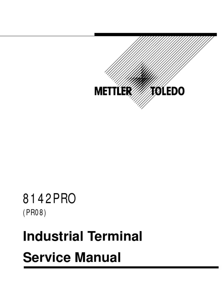 mettler toledo panther calibration manual