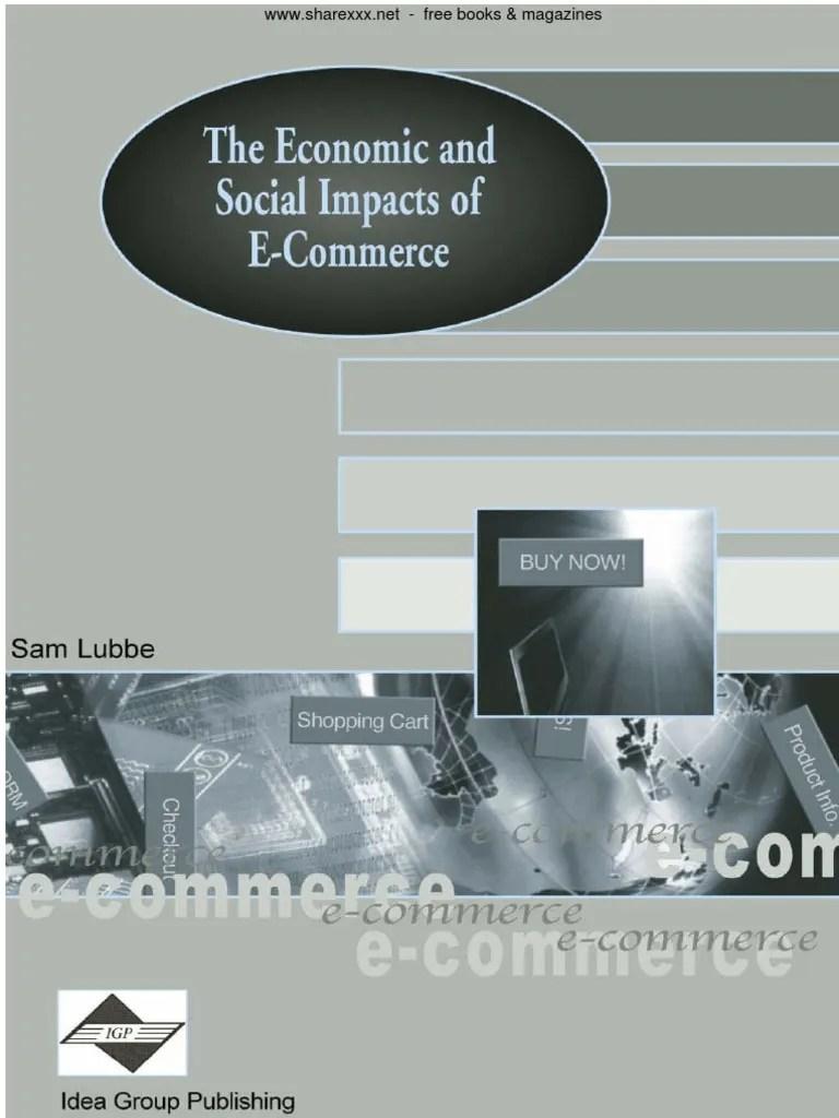 the economic and social impacts of e commerce 1 e commerce capitalism [ 768 x 1024 Pixel ]