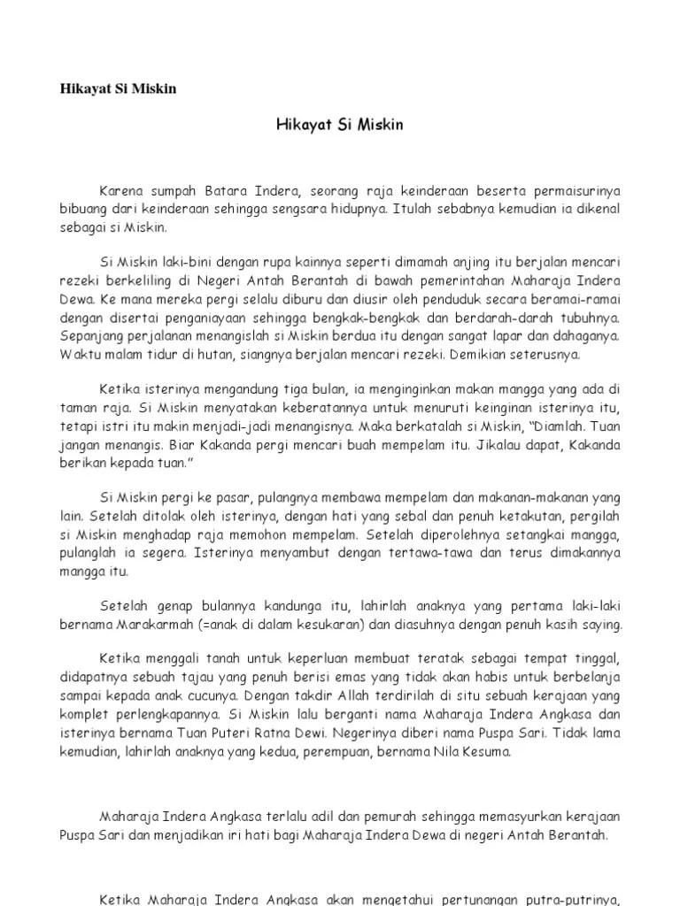 9 Unsur-Unsur Hikayat dalam Bahasa Indonesia - DosenBahasa.com