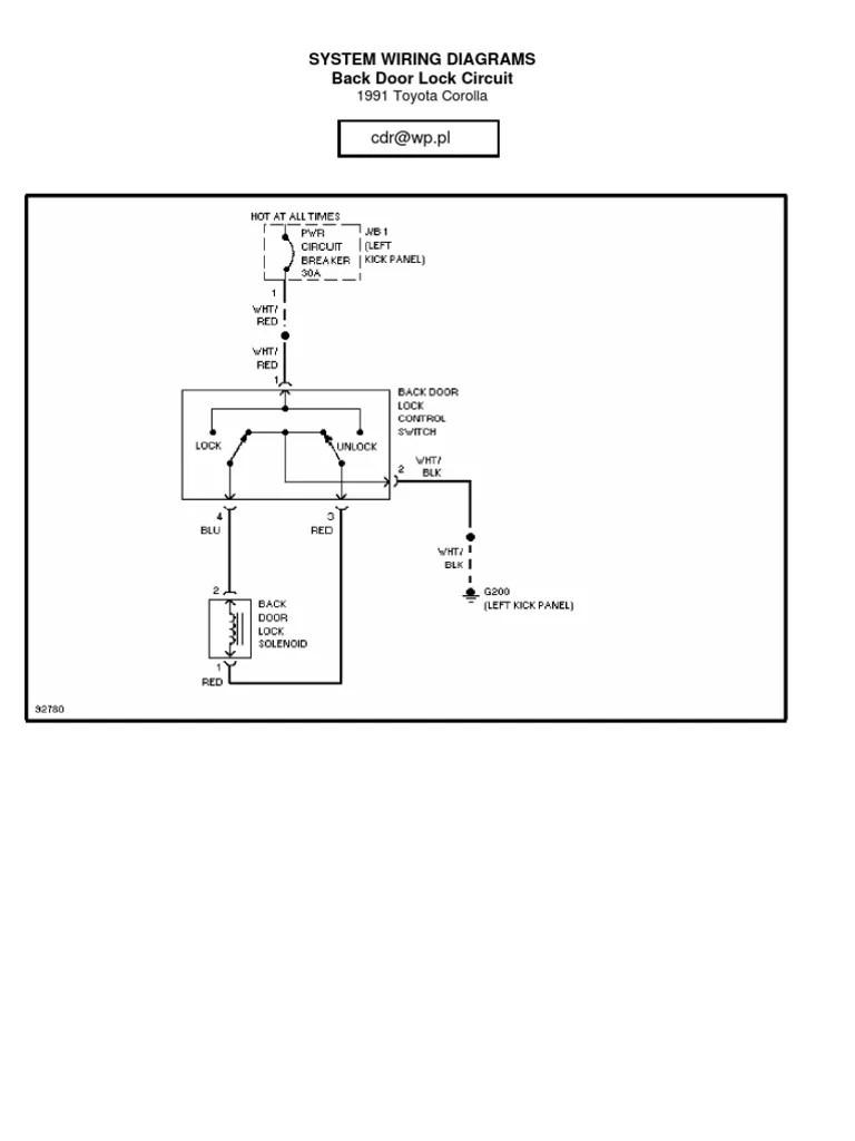 small resolution of 1991 toyotum corolla wiring diagram