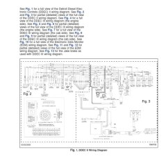 Detroit Series 60 Ecm Wiring Diagram Pro Tach Ddec Ii And Iii Diagrams   Diesel Engine Truck