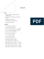 Cessna 172 Skyhawk checklist