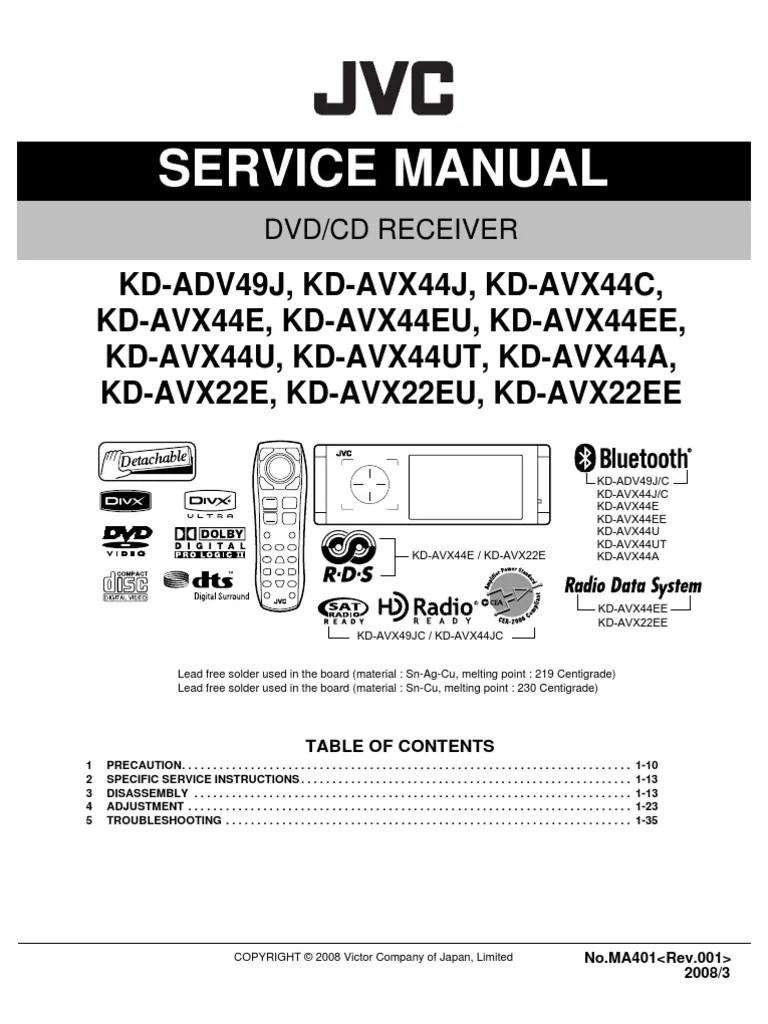 medium resolution of r438 wiring diagram jvc kd wiring diagramr438 wiring diagram jvc kd wiring diagrams onejvc kd adv49 avx22 avx44 ma401 sm