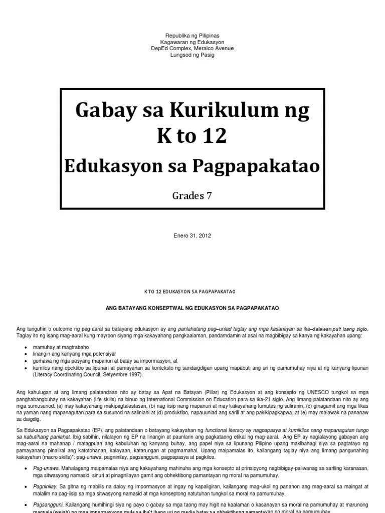 Baitang 7 Araling Panlipunan Teaching Guide - peakeasysite [ 1024 x 768 Pixel ]