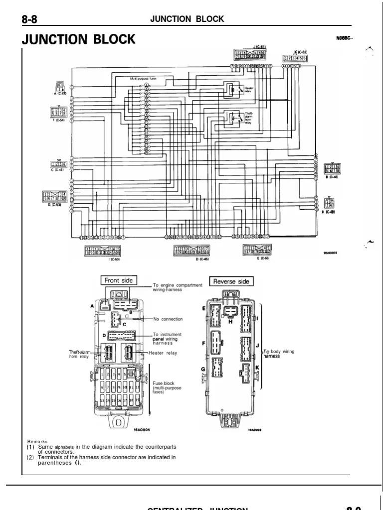 medium resolution of 1g mitsubishi 6g72 fuses fuse electrical relay 2004 mitsubishi fork lift diagrams mitsubishi 6g72 wiring diagram