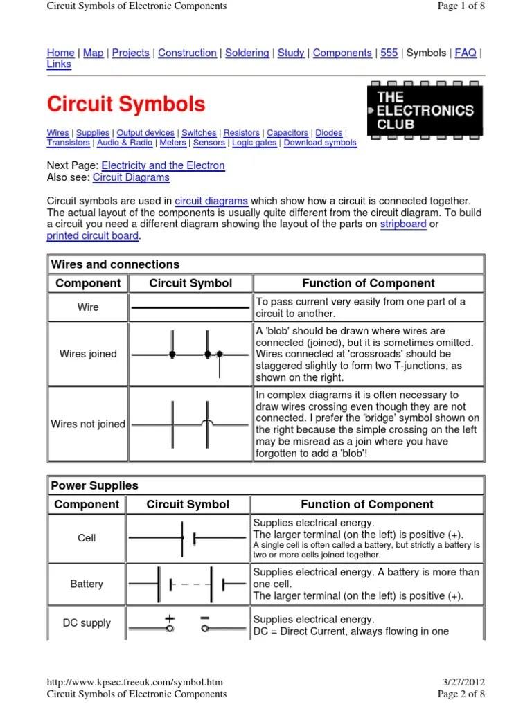 medium resolution of show electrical wiring diagram symbol