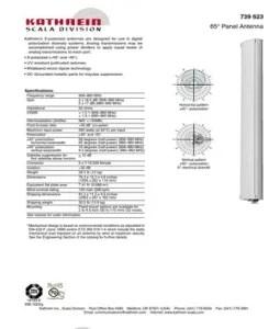 739623 Kathrein Antenna
