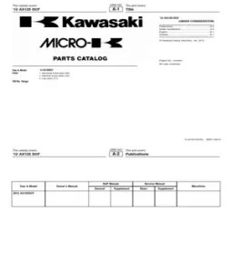Part Catalog Kawasaki Athlete 2013 AX125DCFIN PDF