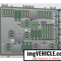 Audi A3 Fuse Box Diagram Cat5e Keystone Wiring 8p Diagrams Schemes Imgvehicle Com Left Side Of Engine Compartment