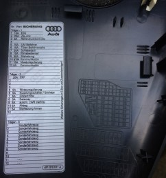 audi a6 c6 fuse box dash panel diagram 2 [ 1024 x 1365 Pixel ]