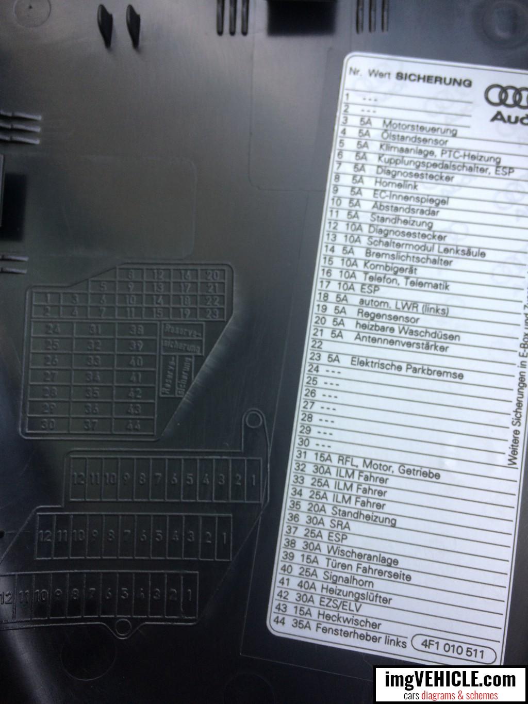 2005 Audi A6 Fuse Box - Cars Wiring Diagram