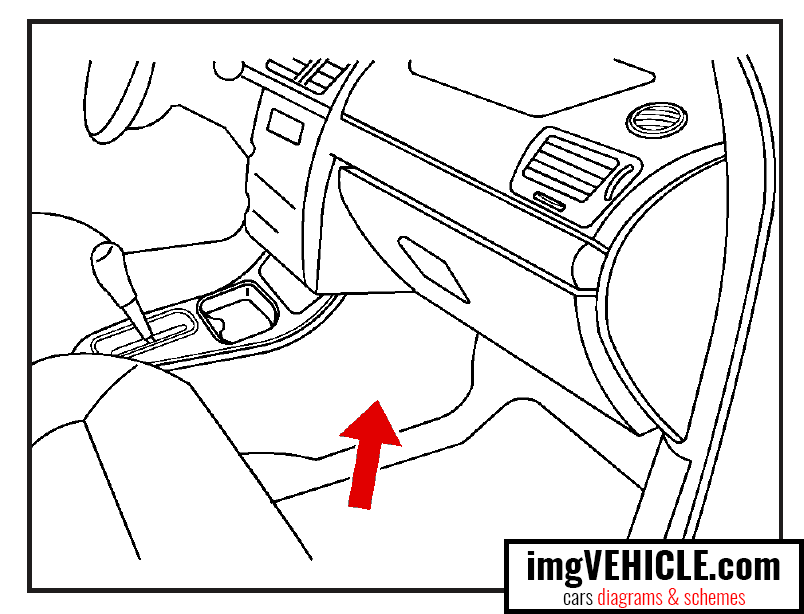 Chevrolet Cobalt I (2004-2010) Fuse box diagrams & schemes