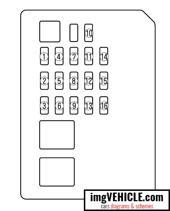2010 Mazda 6 Fuse Box Diagram / Fuse Box Diagram Mazda 6
