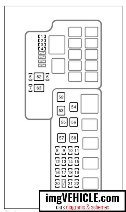 toyota camry fuse box diagram 2002
