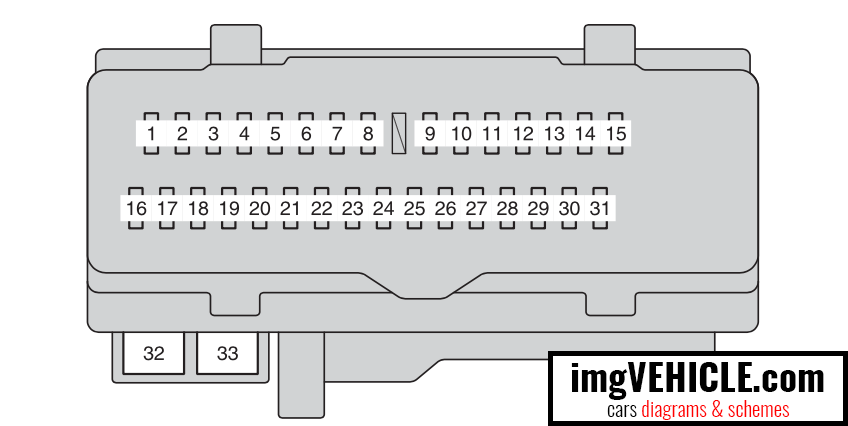 ford focus mk2 towbar wiring diagram 1997 honda accord fuse box 2008 toyota matrix layout camry data2009 detailed is250