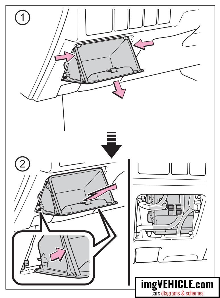 2012 toyota corolla fuse box