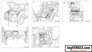 Toyota Rav4 XA30 Fuse box diagrams & schemes  imgVEHICLE