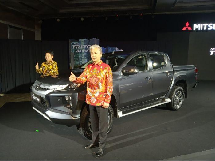 New Triton diluncurkan di Jakarta