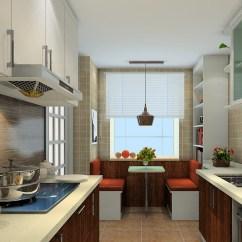 Kitchen Window Coverings Mosaic Backsplash U字型厨房效果图厨房9 窗帘使空间更为清爽 维意定制家具商城