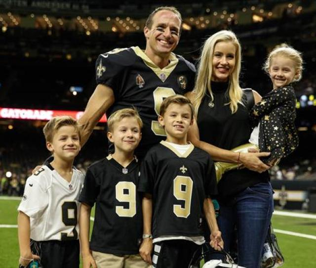 Drew Brees Wife Brittany Donating  Million To Louisianas