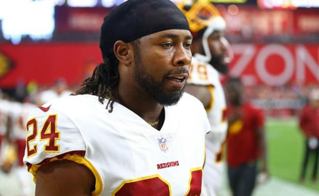 Redskins Db Josh Norman Could Not Get His Pads Off