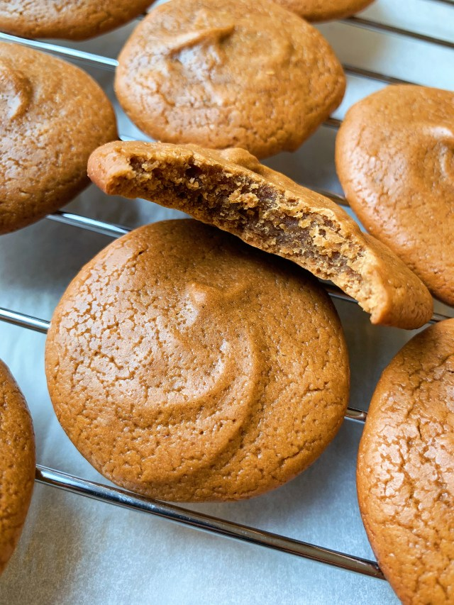 3 Ingredient PB2 Protein Peanut Butter Cookies by imheatherr. Healthy powdered peanut butter baking recipe with Bell Plantation's PB2. Low calorie, low carb, high protein and only 3 ingredients!