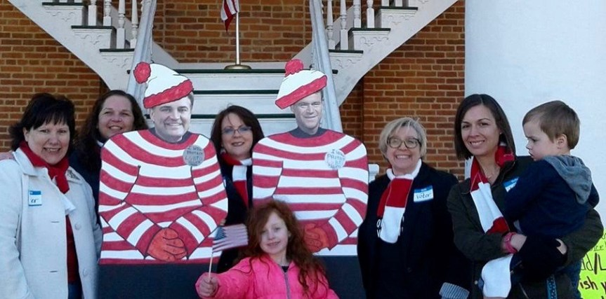 "Indivisible SE IN ""Where's Waldo"" Town Hall"