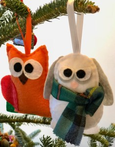 Arliss bunny & Thurston Owl