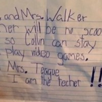 10 Hilarious Notes From Kids
