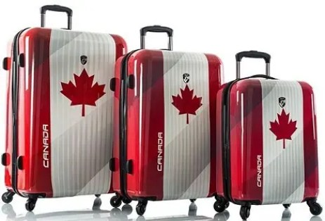 Malas prontas para viajar pro Canadá - Express Entry Canada