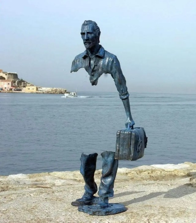 O vazio que fica em nós - Escultura de Bruno Catalano