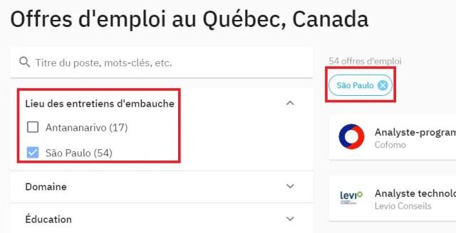 Missão de Recrutamento da Quebec en Tete que recruta brasileiros para Quebec City