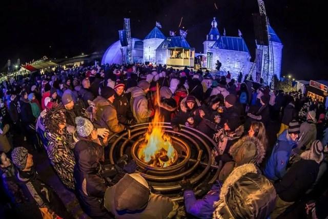Carnaval de Inverno de Quebec Canadá
