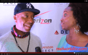 Iminah with business icon Russell Simmons