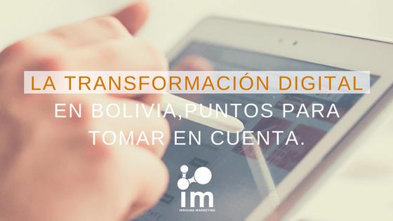 Transformación Digital IM Bloig