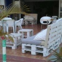 lounge møbler af paller