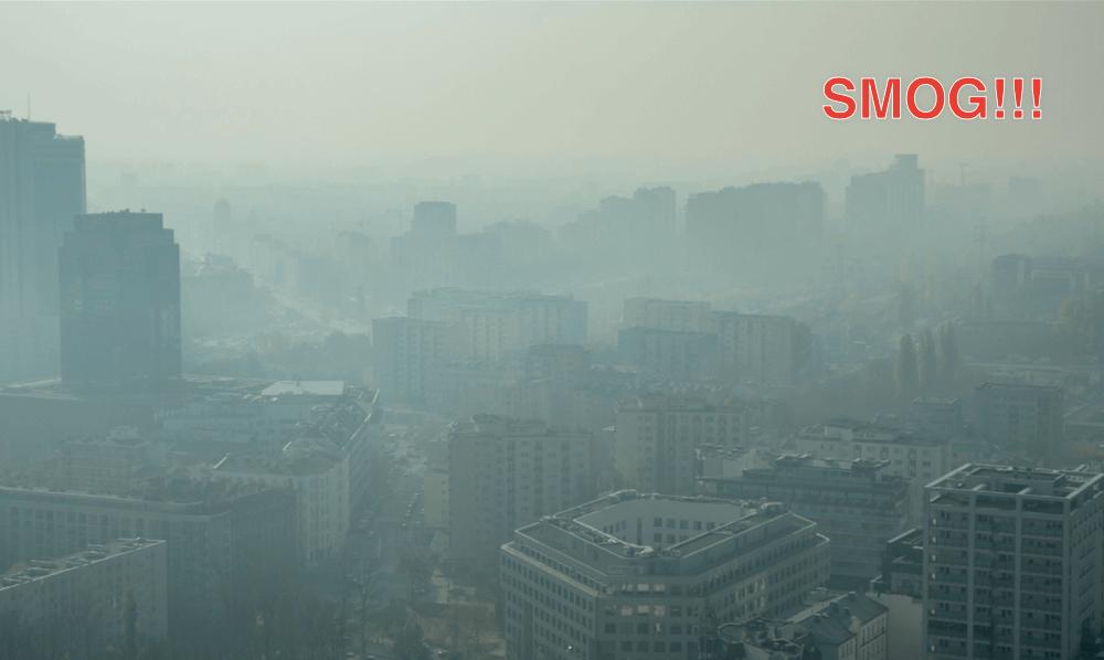 Smog nad Warszawa (source: https://www.flickr.com/photos/radekkolakowski/22798350941/)